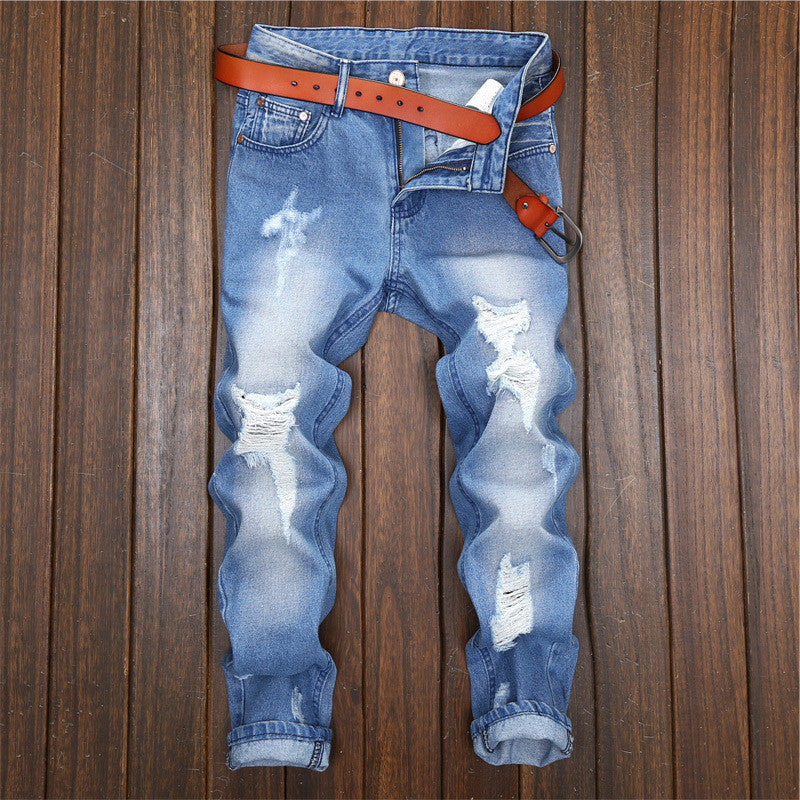 Youth Broken Hole  Jeans