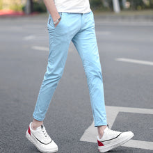Ankle-length Cotton Pants