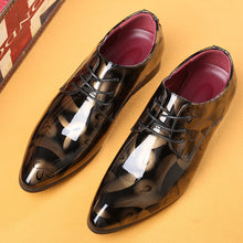 Pointed Toe Oxford Shoes