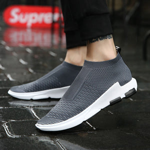 Elasticity Cloth Breathable Sports Shoes