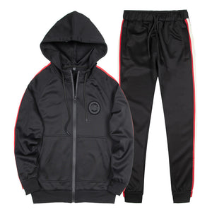 Brief  Vintage Regular Outdoor Men's Sports Suit