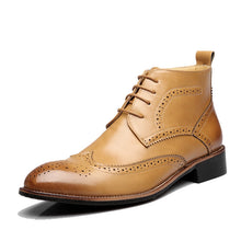 Carved Martin Retro Strap Men's Boots