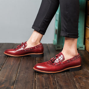 Breathable Retro Leather Shoes