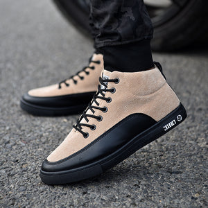 High-help Skateboard Men's Casual Shoes