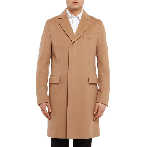 Casual Pocket Cold-proof Men's Trench Coat