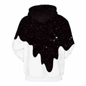 Milk Cups Digital Print Hoodies