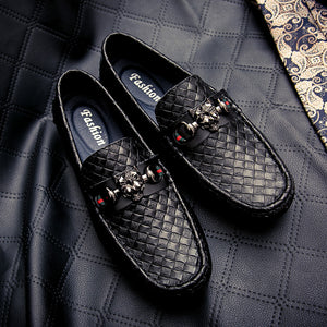 Fashion Leather Casual Driving Shoes