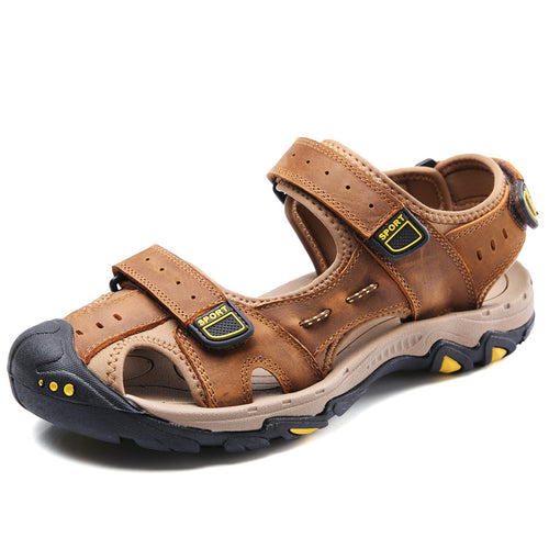 Air-permeable Beach Hollow Anti-skid Men's Sandals