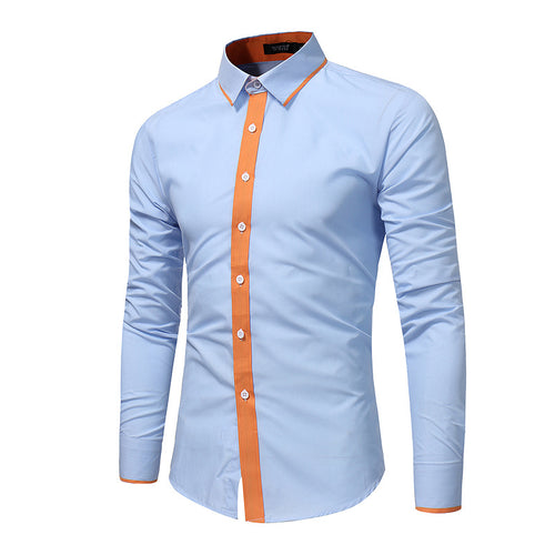 Big Size Casual Long Sleeve Shirt