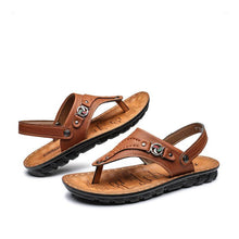 Men's Leather  Beach Sandals