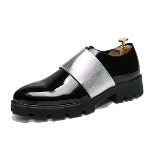 Leather Point Toe Multi Purpose Men's Loafers