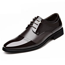 British Patent Leather Wedding Shoes