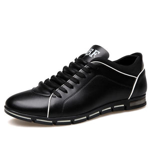 Casual Breathable Leather Shoes