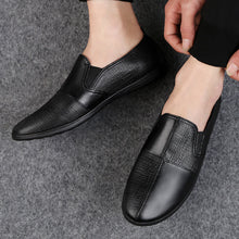 Stitched Stripe Flat Comfortable Men's Casual Shoes