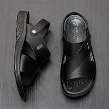 Leather Casual Breathable Beach Sandals