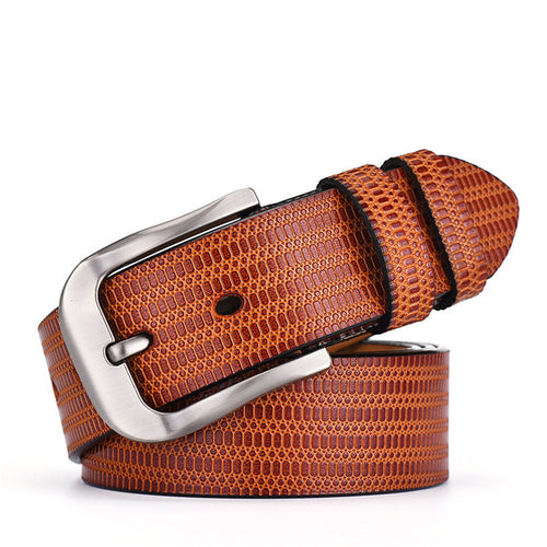Genuine Leather Multi Purpose Solid Color Men's Belts