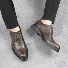 British Brock Pointed Toe Business Shoes