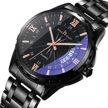 Calendar Noctilucence Stainless Steel Men's Watches