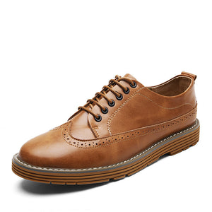 Antislip Wear Plain Men's Casual Shoes
