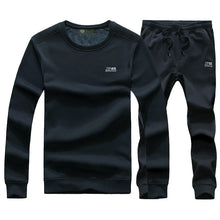 Cashmere Outdoor Leisure Collar Men's Sports Suit