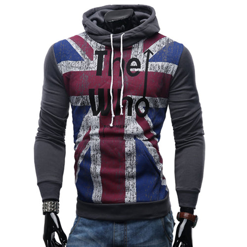Plus Size Camouflage Printing Pullover Men's Hoodies