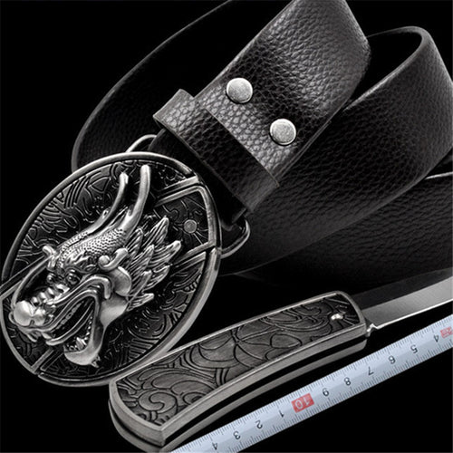 Safety Protection Oral Knife Men's Belt