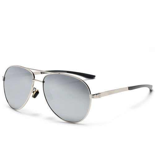Stainless Steel Frame Polarized Sunglasses