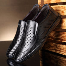 Breathable Leather Causal Shoes