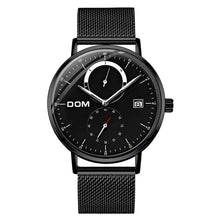 Waterproof Calendar Noctilucence Men's Watches