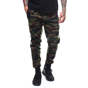 Printing Leisure Sports Camouflage Men's Jeans