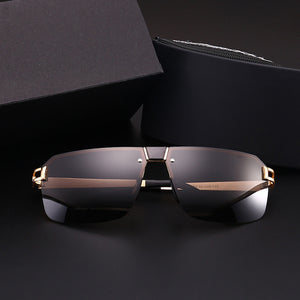 Square Eye Protection Business Polarized Men's Glass