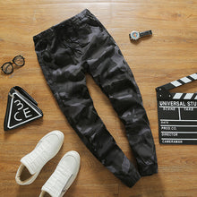 Camouflage Cotton Casual Pants