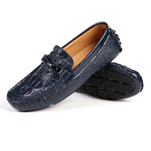 Breathable Croco Comfortable Men's Loafers