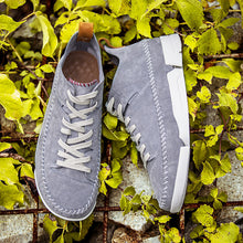 British Soft Bottom Suede Leather Retro-light Men's Sneakers