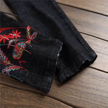 Embroidered Slim Jeans