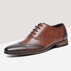 Retro Rubber Plain Men's Oxfords