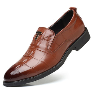 Men's British Pointed Toe Formal Shoes