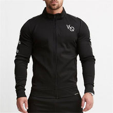 Athletic Fitness Letter Men's Sports Suits