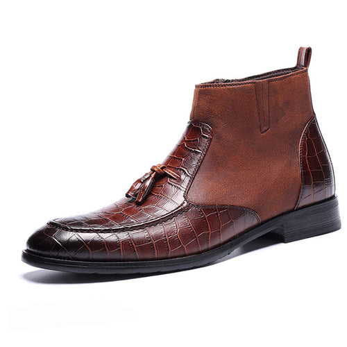 High Quality Handsome Comfortable Leather Men's boots
