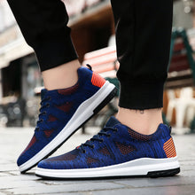 Air-permeable Flying Weaving Net Youth Students Men's Sneakers