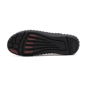 Pleated Comfortable Flat Men's Casual Shoes
