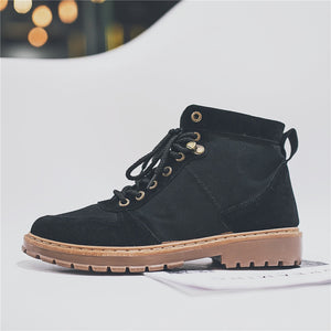 British Big Head Retro Men's Boots