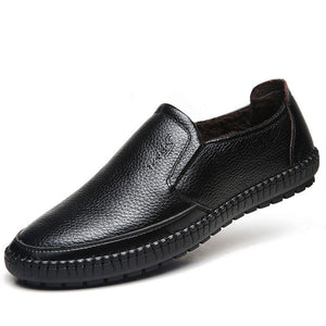 Genuine Leather Breathable Deodorize Men's Loafers