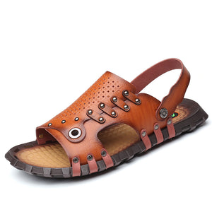 Open Toe Tracing Stream Beach Men's Sandals