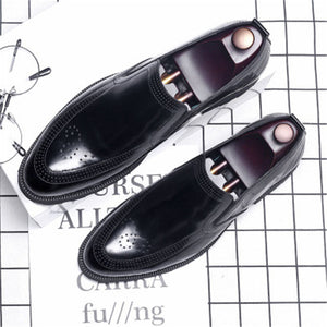 Dampen Breathable Plain Men's Formal Shoes