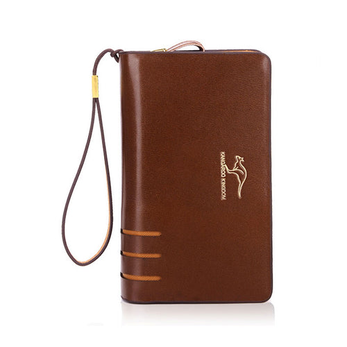 Long Section Waterproof Soft Men's Wallets
