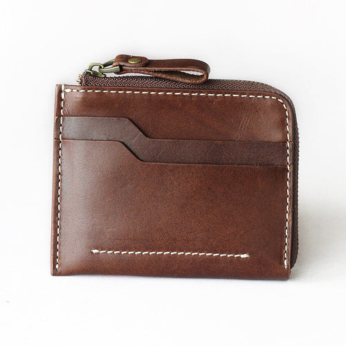 Short Leather Casual Out Soft Surface Men's Wallet
