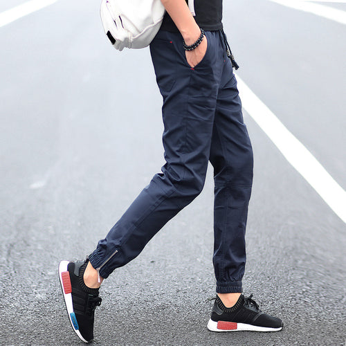 Elastic Ankle Banded Pants