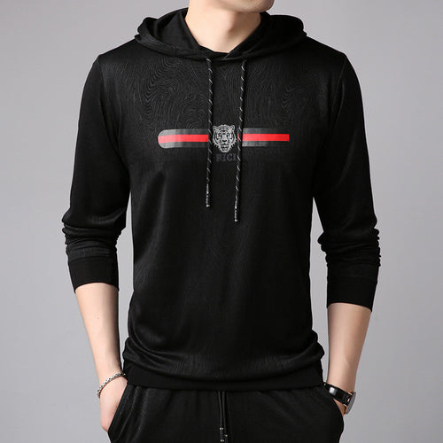 Windproof Hooded Slim Regular Men's Hoodie