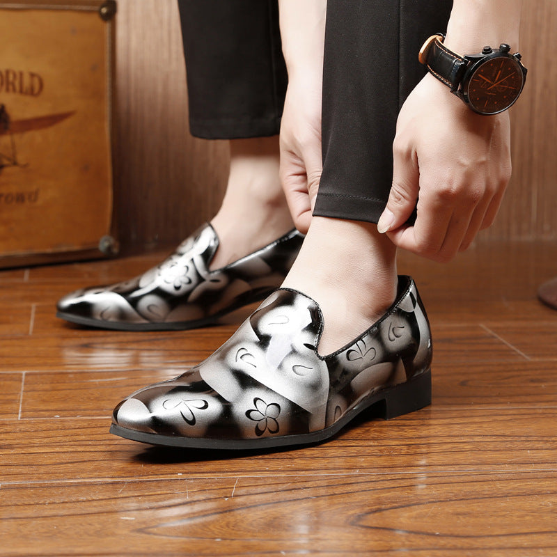 British Patent Leather Casual Shoes